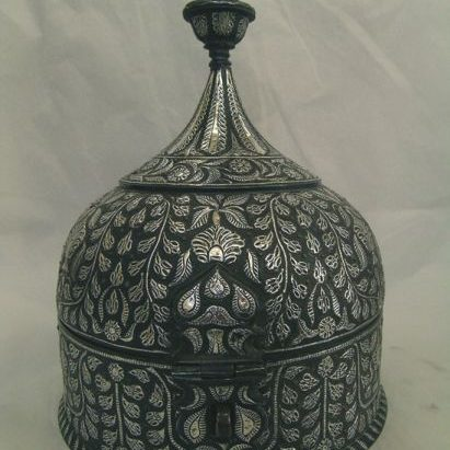 Persian Bell-shaped Box After Treatment