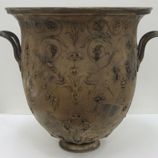 Large Urn Before Treatment