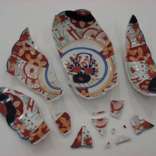 Ceramic Bowl Before Treatment