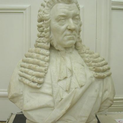 Bust of Matthew Davenport Hill After Treatment