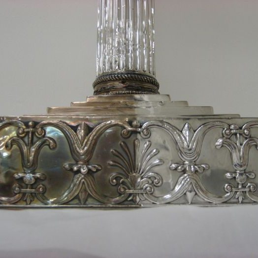 Masonic candlesticks Partial Treatment