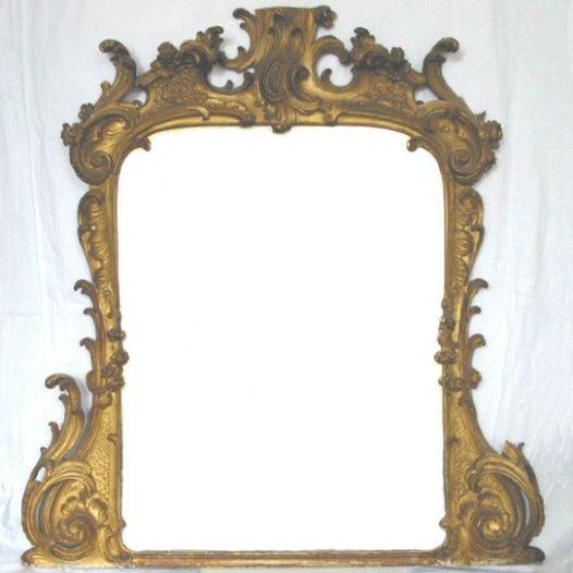 Rococo Mirror Frame