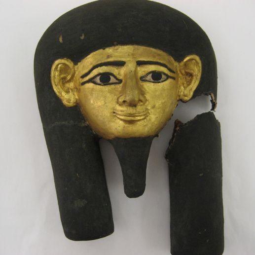 Egyptian Cartonnage Before Treatment