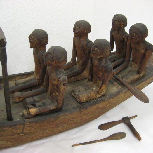 Egyptian Funerary Boat