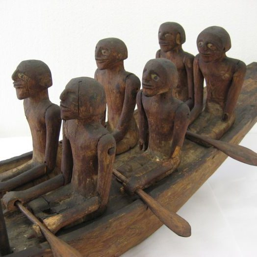 Egyptian Funerary Boat 1